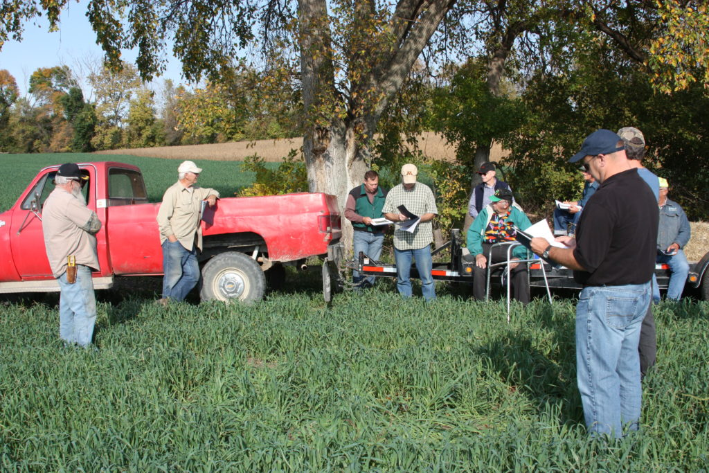 Farmers in the Le Sueur River Watershed share what they're doing to reduce runoff from fields.