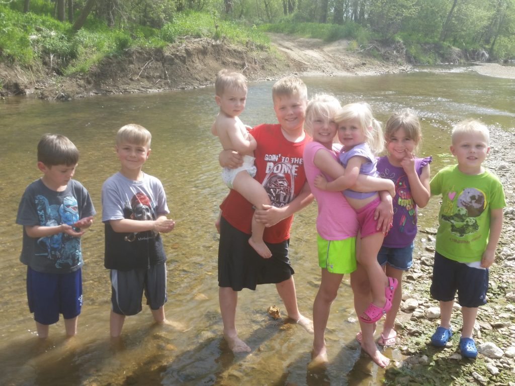 """Of their decision to innovate and invite others to do the same, John says, """"A long stretch of Peno Creek runs through our land, and we want our grandchildren to be able to safely enjoy that creek, and have clean water like we did."""""""